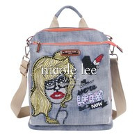 JODIE BLONDE PRINT CONVERTIBLE BACKPACK PURSE - NEW ARRIVALS