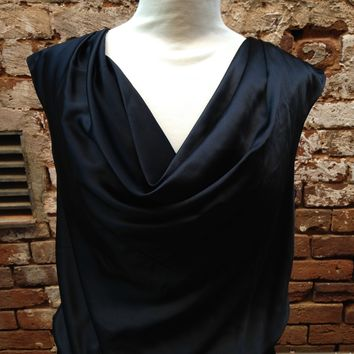 White House Black Market Black Dress- Size M