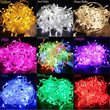 10M 100 LED Christmas Tree Fairy Colorful String Party Lights Lamp Waterproof