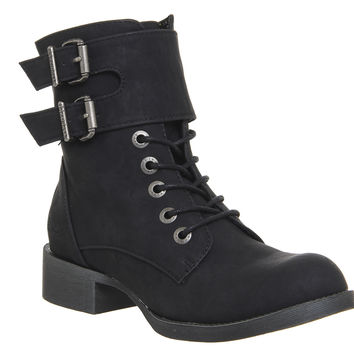 Blowfish Kami Ankle Boots Black Texas - Ankle Boots