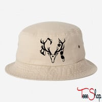 18 deer bachelor party fun funny love stag nigh bucket hat