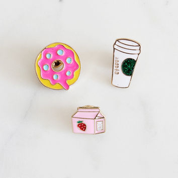 Breakfast Pin Set