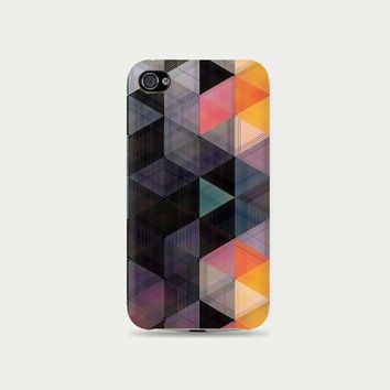 Dark & Burn Geometric Plastic Hard Case - iphone 5 - iphone 4 - iphone 4s - Samsung S3 - Samsung S4 - Samsung Note 2