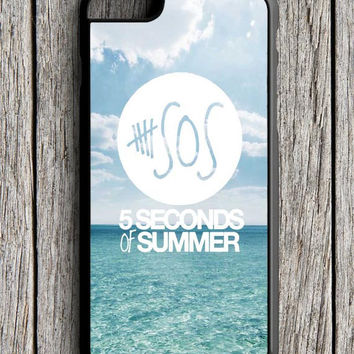 5 Second Of Summer Blue Sea iPhone 6 Case