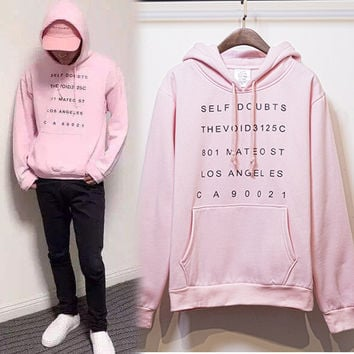"""Anti Social Social Club""  Cotton Fashion Hoodies [9321335111]"