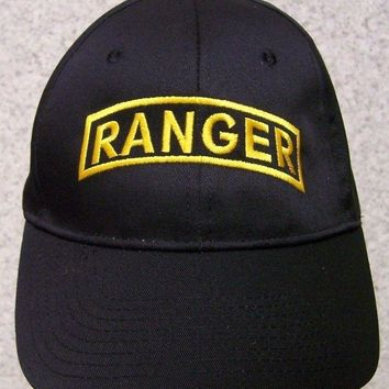Embroidered Baseball Cap Military Army Ranger NEW 1 hat size fits all
