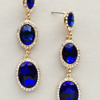 Sapphire Julie Earrings