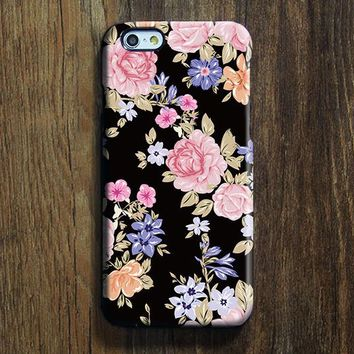 Classy Floral iPhone XR Case | iPhone XS Max plus Case | iPhone 5 Case | Galaxy Case 3D 143