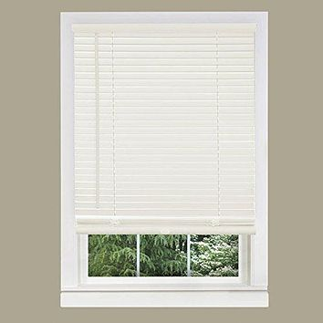 Ben&Jonah Collection Cordless GII Morningstar 1 inch  Mini Blind 27x64 - Alabaster