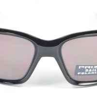 Oakley STRAIGHTLINK Polished Black Prizm Daily Polarized OO9331-07 NIB