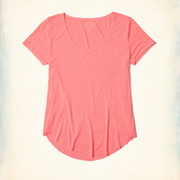 Girls Must-Have Easy T-Shirt | Girls Tops | HollisterCo.com