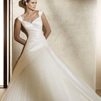 Cheap Pronovias Wedding Dresses - Style Almina - Only USD $336.00