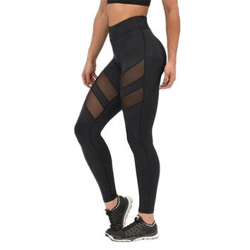 2017 Brand New Sexy Women's Sports Gym Yoga Running Fitness Leggings Pants Workout Clothes Leggings