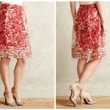 NWT Anthropologie Catharina Skirt Sz 0, 2, 4 and 10 - By Wolven