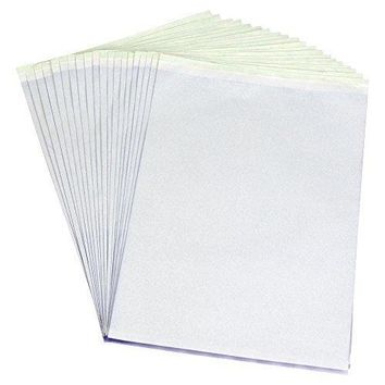 PFT Transfer Stencil Paper 15 Sheets by Pirate Face Tattoo 8.5x11