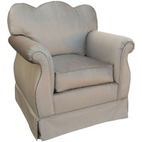 Angel Song 101720156 Aspen Silver Child Empire Chair