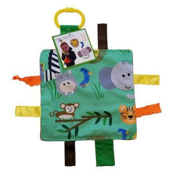 "Baby Jack and Company - Sensory Squares Jungle 8""x 8"""