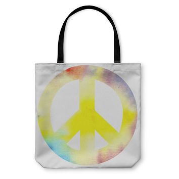 Tote Bag, Peace Sign Pacific