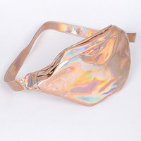 Metallic Holographic Fanny Pack