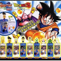 Bandai Dragon Ball Z DBZ Gashapon Mini Vending Machine 9 Collection Figure Set