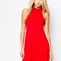 Missguided | Missguided High Neck Swing Dress at ASOS