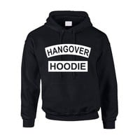 Allntrends Adult Hoodie Hangover Hoodie Funny Drunk Alcohol Lovers Gift (L, Black) - Walmart.com