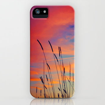 Paint Me a Sunset Sky iPhone Case by Caleb Troy