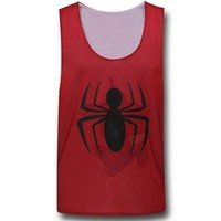 Spiderman Reversible Mesh Tank Top