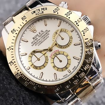 Rolex Woman Men Fashion Quartz Classic Wristwatch Watch