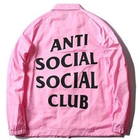 hcxx New Anti Social Social Club Jacket