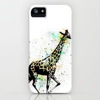 Giraffe iPhone & iPod Case by Del Vecchio Art By Aureo Del Vecchio