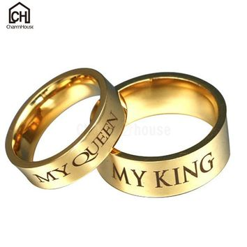 FREE My Queen & My King Matching Rings (Just Pay Shipping) LIMITED TIME!