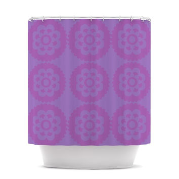 """Nicole Ketchum """"Moroccan Lilac"""" Shower Curtain"""