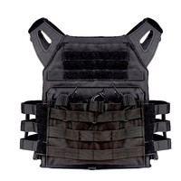 Tactical Plate Carrier Vest With Molle System