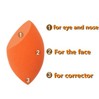 Egg-shaped Soft Showei Miracle Complexion Makeup Sponge Real Fundation Techniques Beauty Flawless Powder Smooth Cosmetic Puff