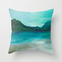 A Peace of My Soul Throw Pillow by Sophia Buddenhagen