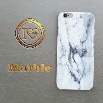 White marble iphone 6s case, iPhone 6 case, iPhone 6s case, iPhone case, iPhone 5s case,  iPhone 5 case, marble case, iPhone marble