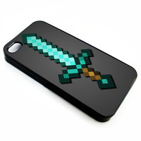 Minecraft Sword | iPhone 4/4s 5 5s 5c 6 6+ Case | Samsung Galaxy s3 s4 s5 s6 Case |