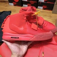 PEAPES5 Air Yeezy 2 Red October 508214-660