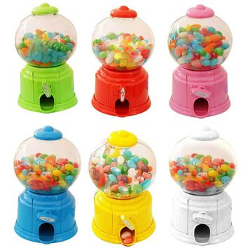 Cute Sweets Mini Candy Machine Bubble Gumball Dispenser Coin Bank Kids Toy Money Saving Box Baby Gift Toys  E2S