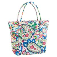 Sleepover Quilted Tote, Paisley
