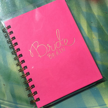 Bride Brain Journal