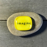Imagine Pocket Pebble by Design4Soul