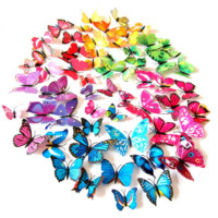 3D Butterfly Vinyl Wall Stickers