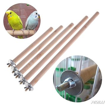 20/24/28/35/40cm Parrot Pet Raw Wood Hanging Stand Rack Toy Parakeet Hamster Branch Perches For Bird Cage Pet Supplies Drop ship