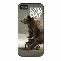Every Damn Day Nike Just Do It Nike Bear iPhone 5s Case