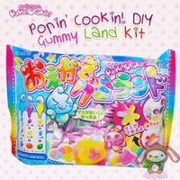 Popin' Cookin! DIY Gummy Land Kit