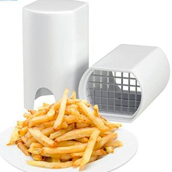 One Step French Fry Vegetable Fruit Cutter Perfect Kitchen Toll