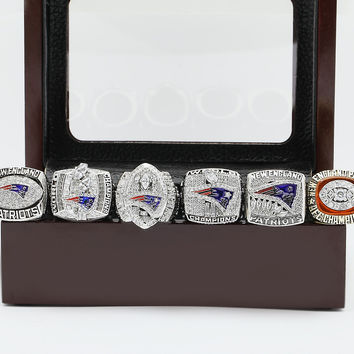 New England Patriots Super Bowl Championship Replica Rings 6 Years Sets