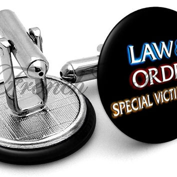 Law & Order SVU Cufflinks